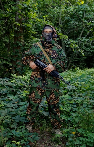Ghillie Suit Partizan - zwei Farbig