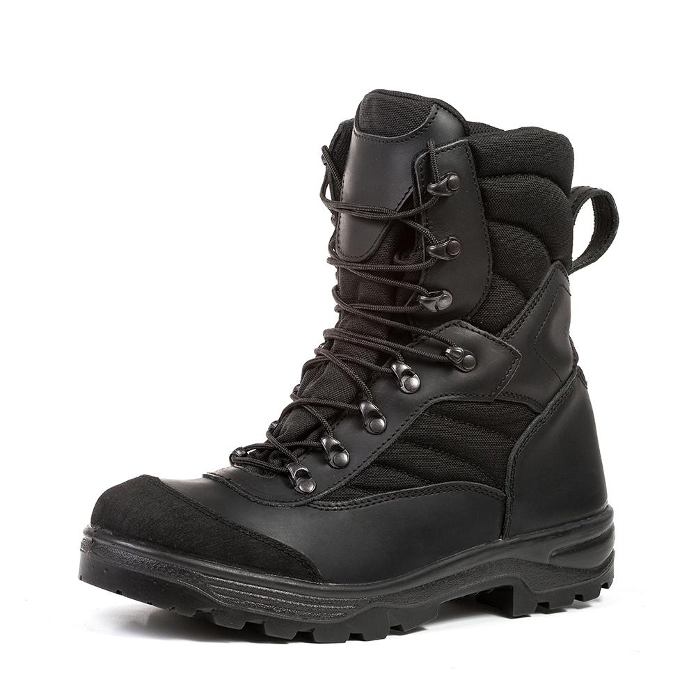 Stiefel Groza Black Nubuk Gr 43