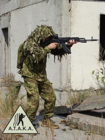 Viper G.3 ~ Ghillie, Sniper Bolero RipStop