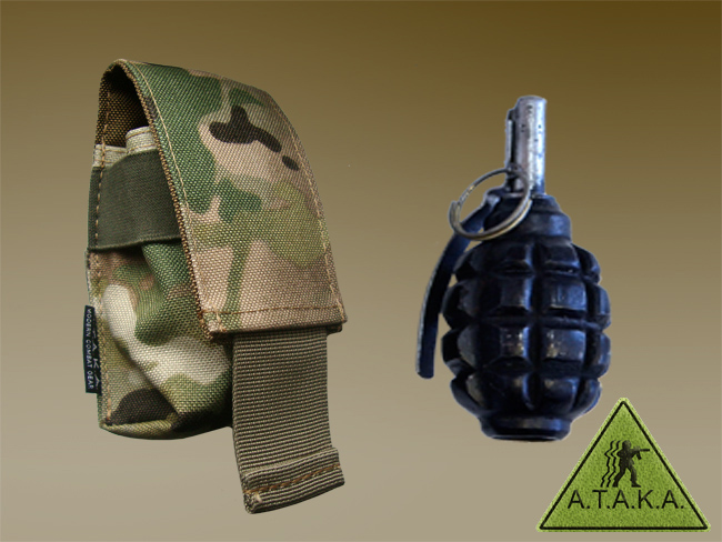 Grenade Pouch Single or Double