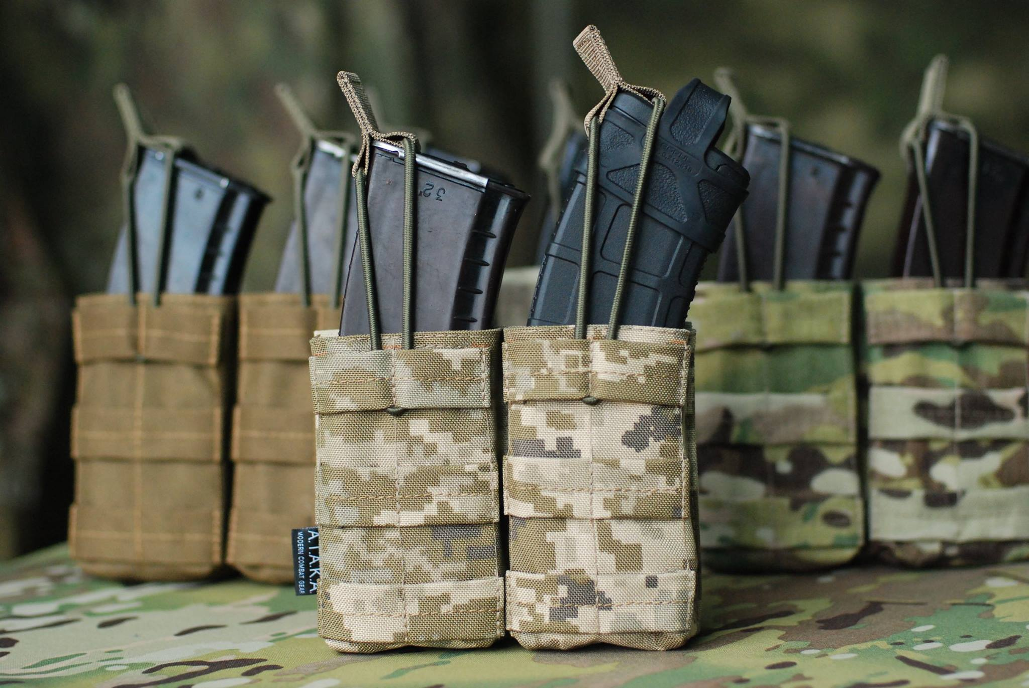 Rifle Pouch Double or Singl