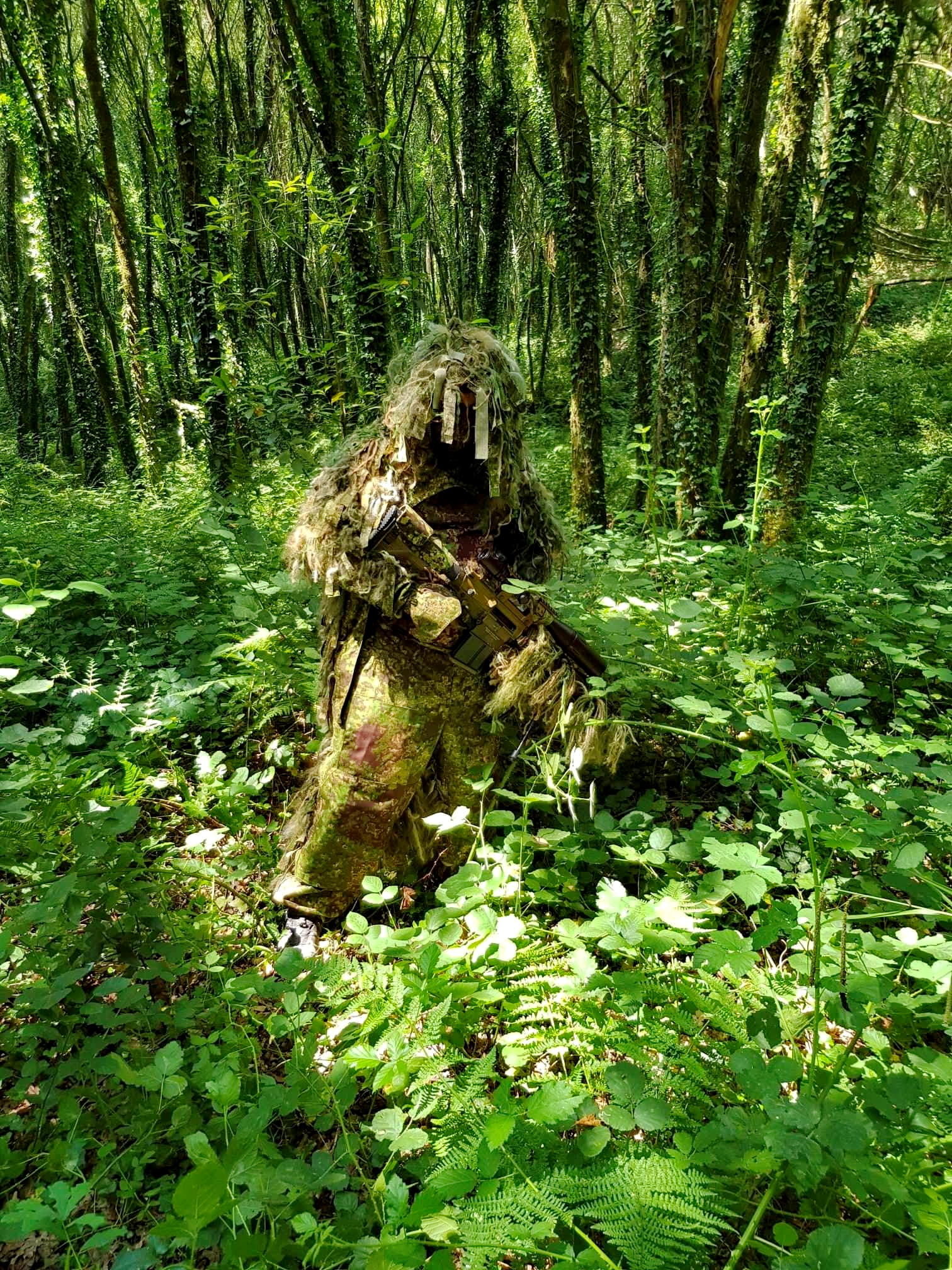 Diversant ~ Ghillie Suit  Gen.4 with camouflage