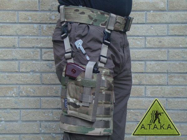 Pistolenbeinholster / Beinplattform