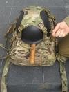 Spyder ~ Halterung am Rucksack
