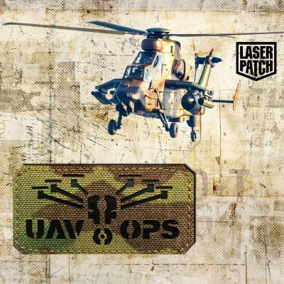 Airforce Helicopter Navi Multicam Laser Patch