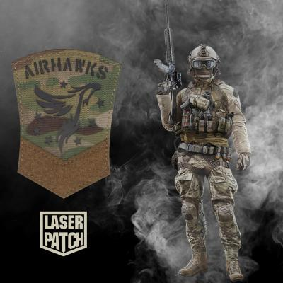 Airhawks Multicam Airsoft Laser Patch