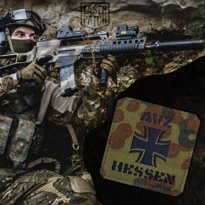 Airsoft Avz Hessen Flecktarn Laser Patch