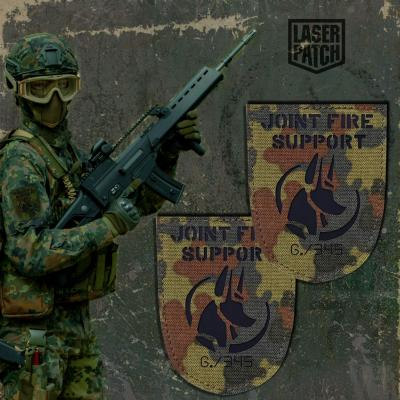 Airsoft Joint Fire Support Flecktarn Laser Patch