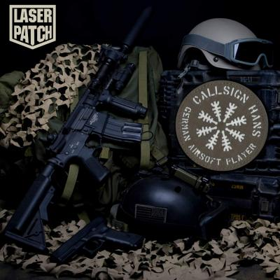 Airsoft Softair Callsign Laser Patch