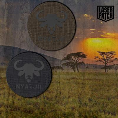 Buffalo Afrika Laser Patch