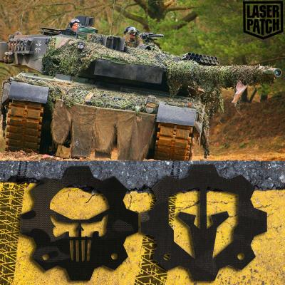 Bundeswehr Leopard Multicam Black Laser Patch