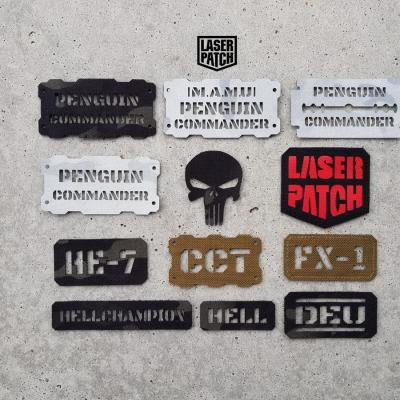 Call Sign Laser Patch 0007