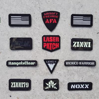 Call Sign Laser Patch 0009