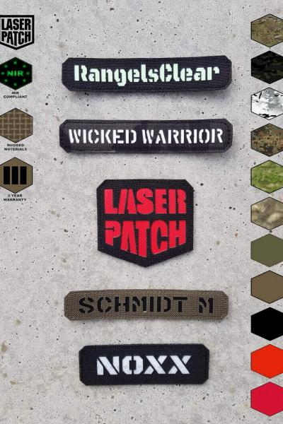 Call Sign Laser Patch 0010