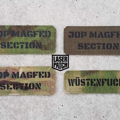 Call Sign Laser Patch 0053