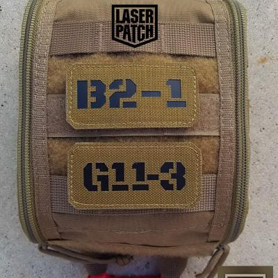 Call Sign Laser Patch 0056