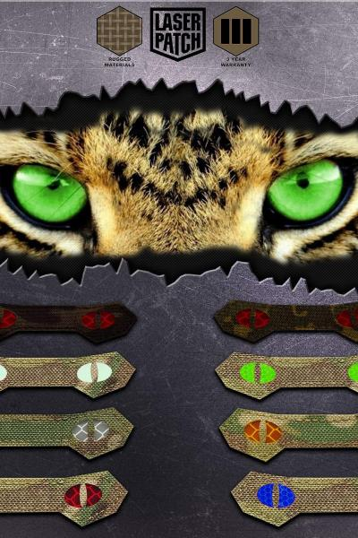 Cat Yeys Tactical Laser Patch Multicam