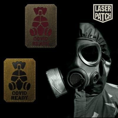 Covid Ready Virus Military Laser Patch