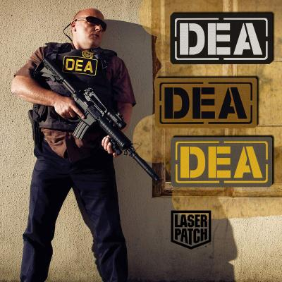 Dea Police Tactical Laser Patch