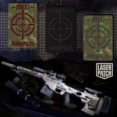 Deu Sniper Weapon Pencott Greenzone Laser Patch