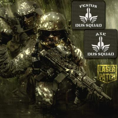 Dus Squard Ranger Green Military Laser Patch
