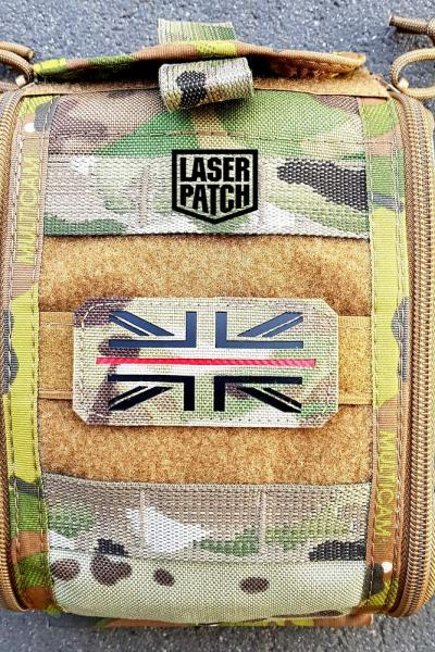 England Flage Laser Patch0001