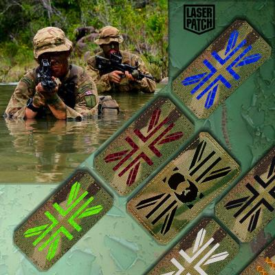 England Sog Military Tactical Laser Patch