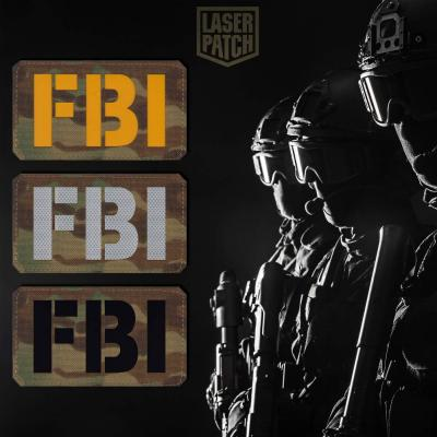 Fbi Tactical Multicam Laser Patch