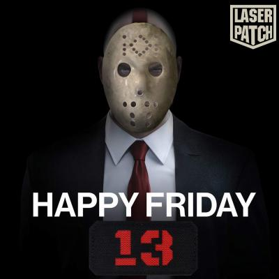 Friday 13 Callsign Laser Patch