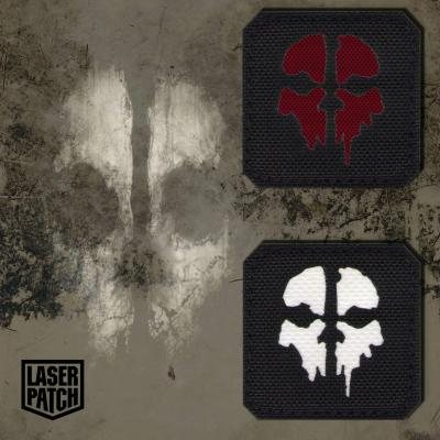 Ghost Military Tactical Multicam Laser Patch