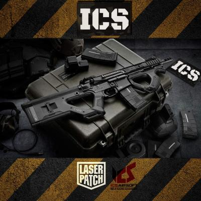 Ics Airsoft Weapon Multicam Laser Patch