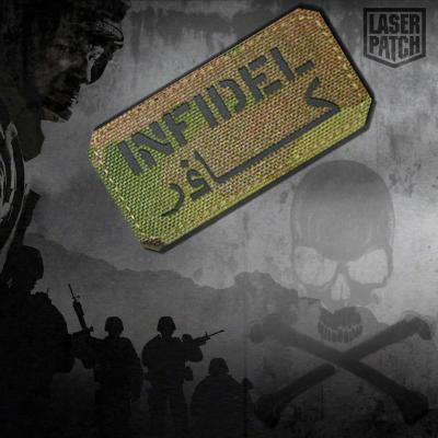Infidel Military Tactical Multicam Laser Patch