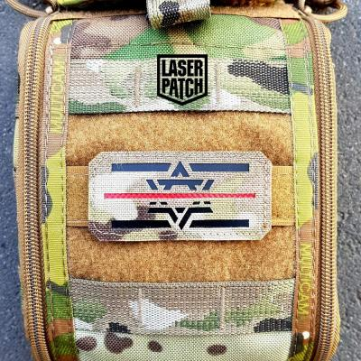 Israel Flage Laser Patch 01
