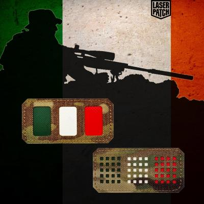 Italy Tactical Military Laser Patch
