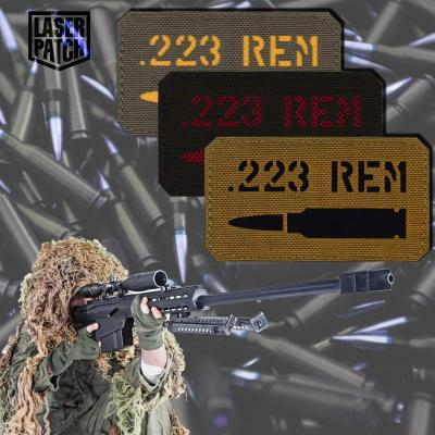 Kaliber 223 Sniper Weapon Military Laser Patch