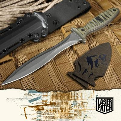 Knife Tactical Od Laser Patch