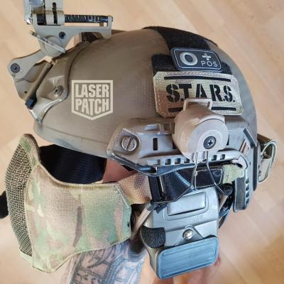 Lasercut Patch Cordura Helm