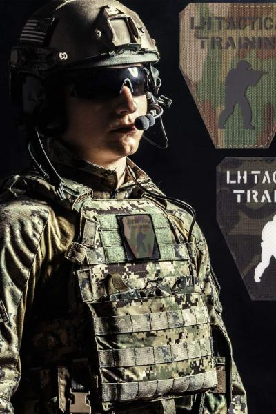 LH Tactical Traning Multicam Laser Patch