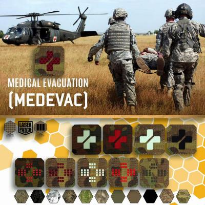 Med Red Cross Laser Patch