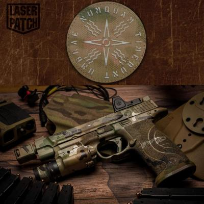 Multicam Military Mp Tactical Laser Patch