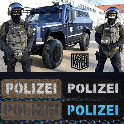 Polizei Police Laser Patch