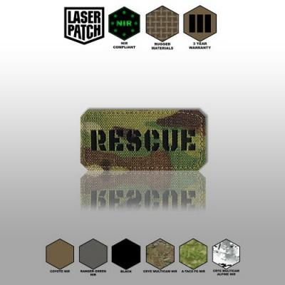 Rescue Laser Patch 0073