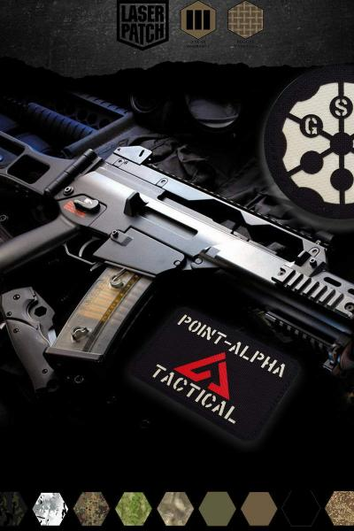 Tactical G36 Laser Patch